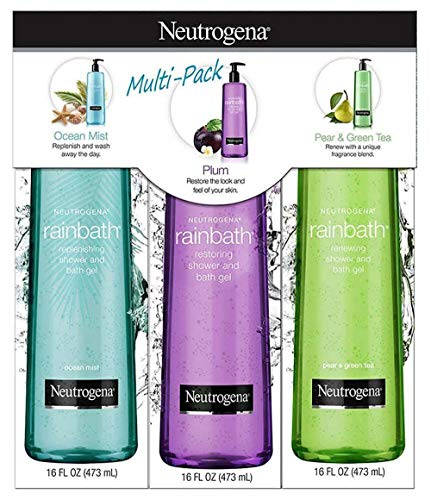 (Neutrogena Rainbath Shower Gel (3 Pack/16 fl. oz.), 48 fl. oz.)