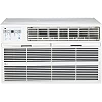 PerfectAire 230V 14,000 Btu Through-the-Wall Air Conditioner with Follow Me Remote, White