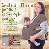 Baby Wrap Carrier by KeaBabies - All-in-1 Stretchy