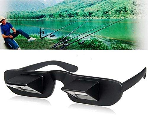 Horizontal Lazy Glasses 90/°Angle Lying Down Bed Reading Prism Eye Glasses High Definition Prism Glasses Lazy Reders Glasses Bed Prism Spectacles