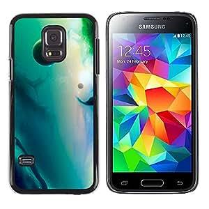 Stuss Case / Funda Carcasa protectora - Mermaid Filled Clouds - Samsung Galaxy S5 Mini, SM-G800