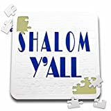 RinaPiro - Jewish Quotes - Shalom You All. Hello in Yiddish. - 10x10 Inch Puzzle (pzl_266046_2)