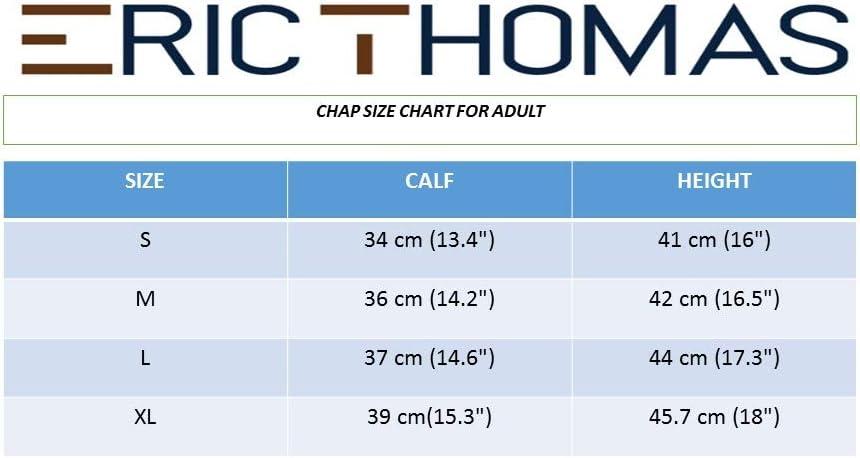 913015 Eric Thomas Demi-Chaps Cuir