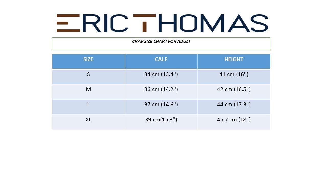 Eric Thomas Leder Mini-Chaps
