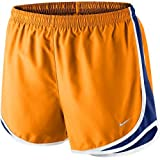 Nike Womens Tempo Short Vivid Orange/Deep Royal Blue/White/Wolf Grey MD