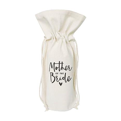 Amazon.com: El algodón y lona Co. Bolsa de vino, cubierta de ...