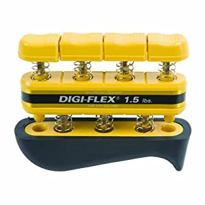 Digi Flex Yellow Hand and Finger Exercise System, 1.5 lbs Resistance