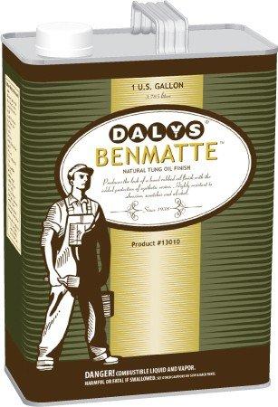 Daly's BenMatte Danish Tung Oil, Clear, 1 Gallon ()