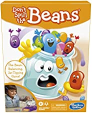 Hasbro Gaming Don't Spill The Beans, Easy and Fun Preschool Game for Kids Ages 3 and Up, for 2 Pla