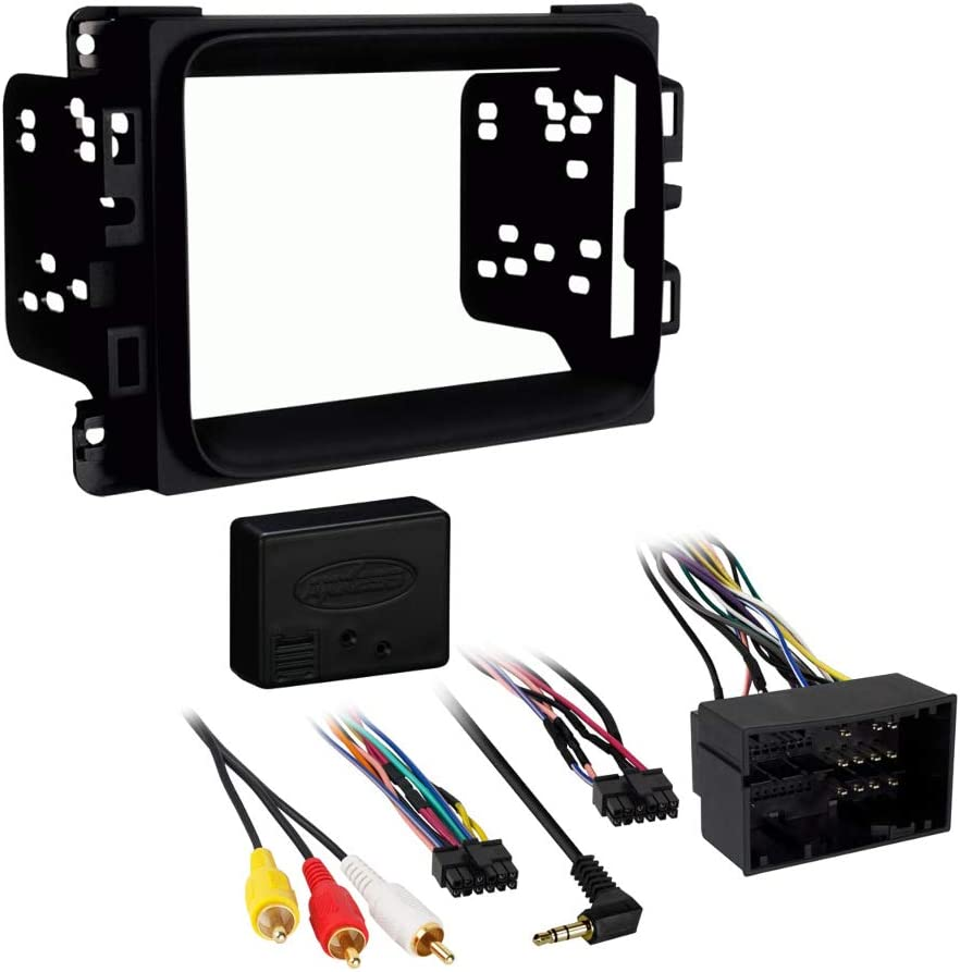 Amazon.com: Metra 95-6518B Double DIN Stereo Installation Dash Kit for 2013  Dodge Ram & InterfaceAmazon.com
