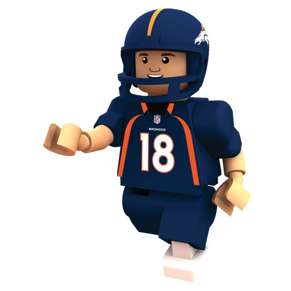 amazon com nfl denver broncos peyton manning gen 2 mini figure
