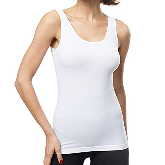 YpingLonk Camiseta sin Mangas de Color sólido para Mujer Camiseta ...