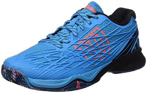 Wilson KAOS Clay Court Hawaiian O/BK/Fiery BLACK/ORANGE