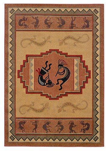 Ancient Icon Natural (Genesis Ancient Icon Natural Rug Rug Size: 5'3