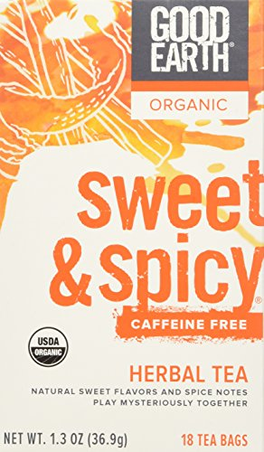 Good Earth Dcf Sweet & Spicy Herbal Tea - 3 (Good Earth Sweet)