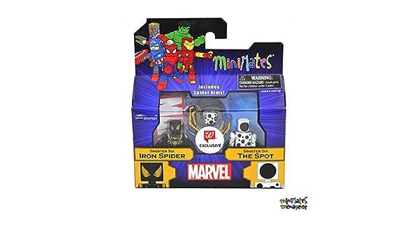 Marvel Minimates Walgreens Wave 26 Sinister Six Iron Spider /& The Spot TRU