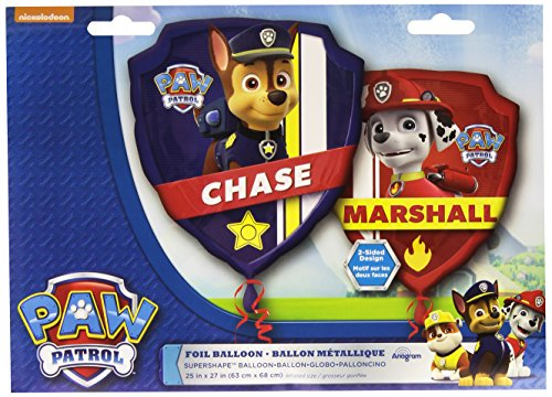 Discount Anagram International 3018201 Paw Patrol Shop Balloon Pack, 27""
