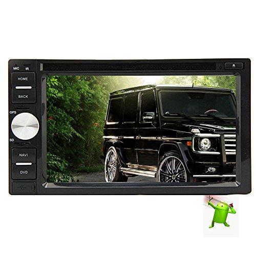 Jensen VX7020 6.2-Inch TFT Car Stereo 2.0 DIN MultiMedia Rec