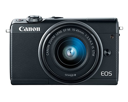 Canon EOS Camera w/15-45mm & 55-200mm Lens - Bluetooth, and NFC Enabled