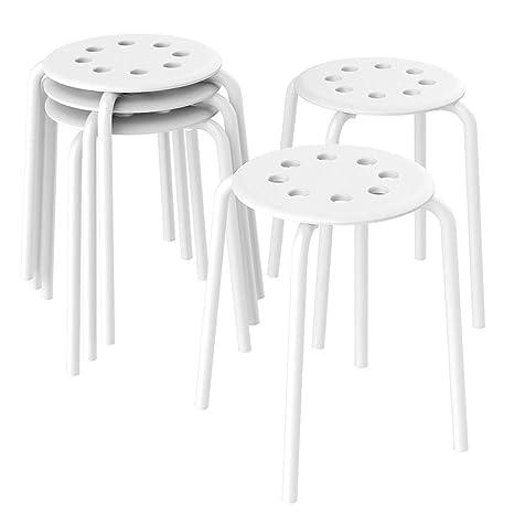Miraculous Set Of 5 Plastic Stack Stools For Kids Classroom Seating For Inzonedesignstudio Interior Chair Design Inzonedesignstudiocom