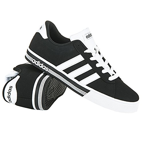 adidas DAILY TEAM - Zapatillas deportivas para Hombre, Negro - (NEGBAS/FTWBLA/NEGBAS) 47 1/3