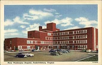 mary washington hospital fredericksburg virginia original vintage postcard. Black Bedroom Furniture Sets. Home Design Ideas