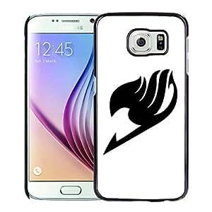 Fairy Tail 5 Black Fashionable Design Samsung Galaxy S6 G9200 Plastic Case
