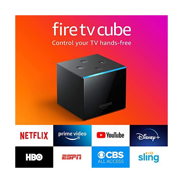 Fire TV Cube | Hands-free streaming device with Alexa | 4K Ultra HD | 2019 release 1