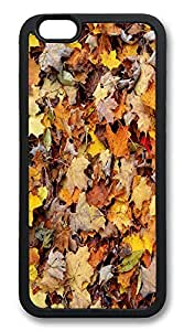 ACESR Autumn Leaves Custom iPhone 6 Case TPU Back Cover Case for Apple iPhone 6 4.7inch Black wangjiang maoyi