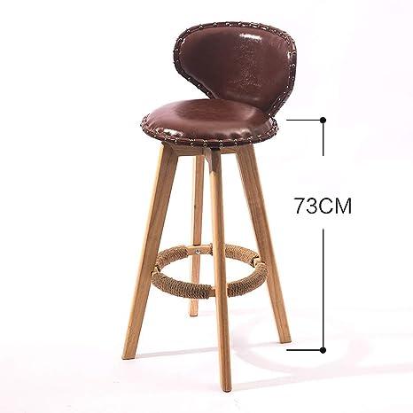 Marvelous Amazon Com Shi Xiang Shop Swivel Bar Stools With Backs Oak Pabps2019 Chair Design Images Pabps2019Com