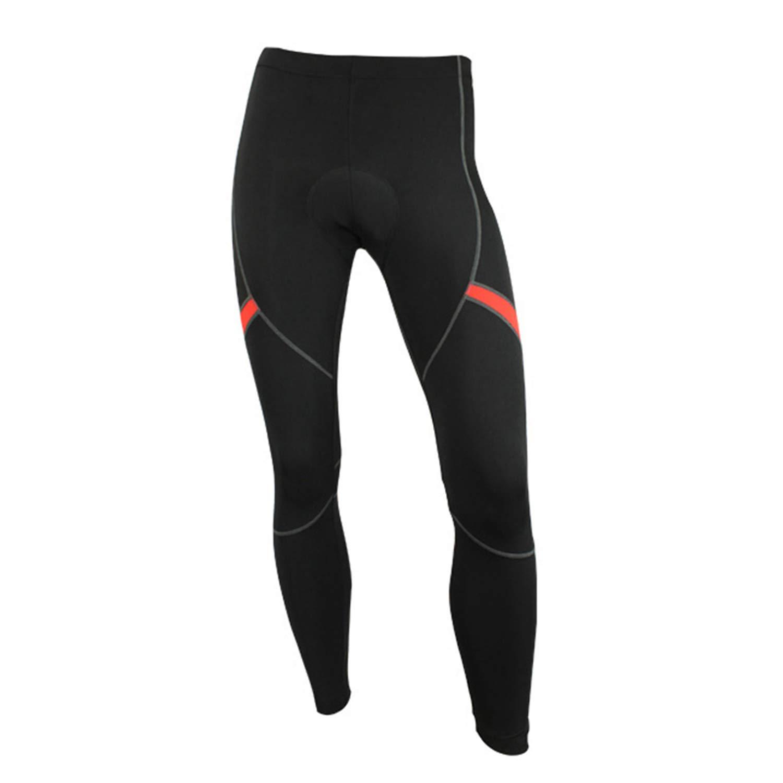 BWBIKE Pantaloni da Ciclismo da Uomo Imbottiti E Traspiranti Pantaloni da Bici da Equitazione Pantalone da Equitazione Calzamaglia Termica Invernale