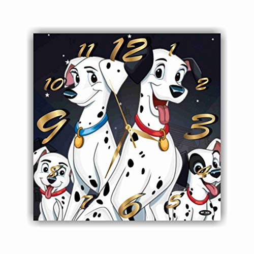 - ART TIME PRODUCTION 101 Dalmatians 11'' Handmade Wall Clock - Get Unique décor for Home or Office - Best Gift Ideas for Kids, Friends, Parents and Your Soul Mates