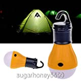 Multifunctional Camping Lamp Tent Light Lantern LED Portable with Hanging Hook Outdoor Camping Hiking