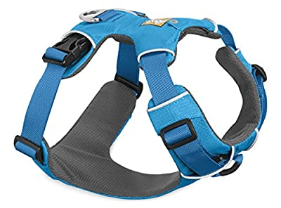 Ruffwear Blue Front Range Dog Harness ? All Day Training Adjustable Adventure Harness ? All Sizes