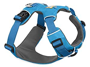 Ruffwear - Front Range No-Pull Dog Harness with Front Clip, Blue Dusk (2017), X-Small