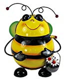 DanDiBo Table bin Bee BL-77 made from metal 20 cm Bin