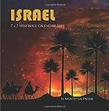 Israel 7 x 7 Mini Wall Calendar 2019: 16 Month Calendar