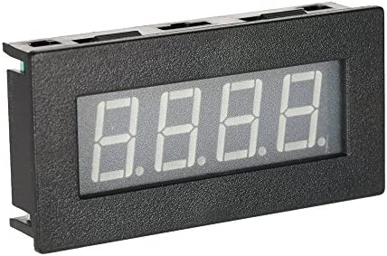 Walmeck High Precision 0.56 4 LED Digital Frequency Tachometer Car Motor Speed Meter RPM Measurement Tester 5-9999R//M DC 8-15V