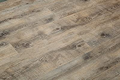 8.7mm Click Lock; 28 mil wear Layer; Luxury Vinyl Plank Flooring 100% Waterproof w/EVA underpad: $2.99+/sqft