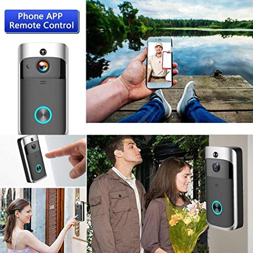 Kaimu Durable Practical 166° Wide-Angle Wireless Phone Remote Doorbell Kits by Kaimu (Image #7)