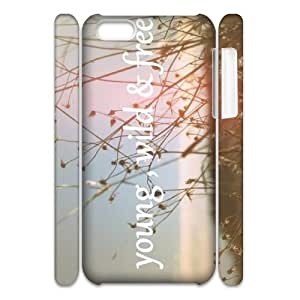 linJUN FENGYoung Wild and Free 3D-Printed ZLB525364 Personalized 3D Phone Case for iphone 6 4.7 inch