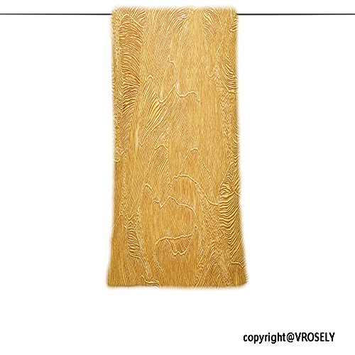 VROSELV Custom Towel Soft and Comfortable Beach Towel-gold background texture wallpaper on the wall element of design Design Hand Towel Bath Towels For Home Outdoor Travel Use - Wall Garden Batik