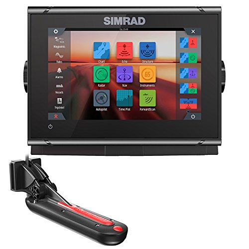 Simrad 000-14077-001 GO7 XSR Chatplotter/Fishfinder with Rad