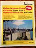 Union County, Hudson County, Essex County, Metropolitan New York City Atlas, Hagstrom Map Company Staff, 0880979569