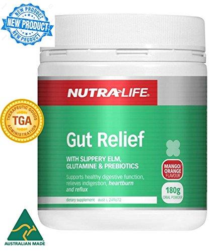 Gut Relief with Glutamine, Slippery Elm, Prebiotics, Curcumin, Quercetin, Pectin, Marshmallow, Artichoke, Aloe vera & Zinc