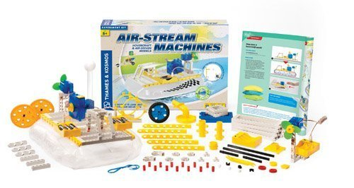 Thames and Kosmos Air-Stream Machines Science Kit by Thames & Kosmos