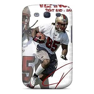 Durable Vernon Davis The Ultimate San Francisco 49ers Back Case/cover For Galaxy S3