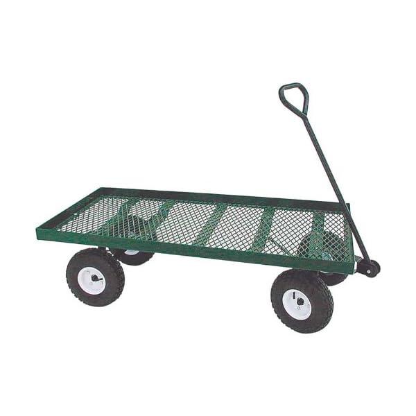 6992ae4576a7 EZ-Haul Flat Bed Metal Wagon - thehostafarm.com