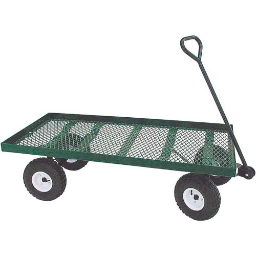 EZ-Haul Flat Bed Metal Wagon