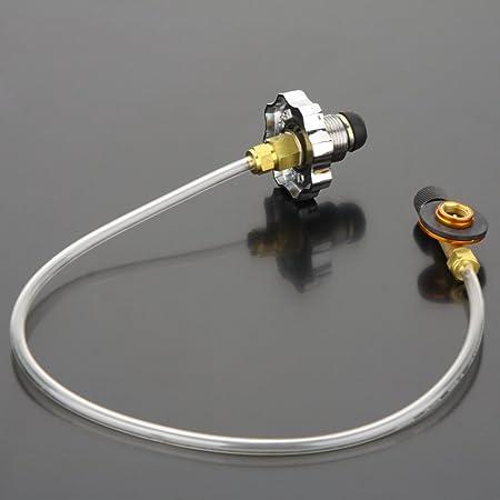 sprigy (TM) Hornillo de gas quemador camping hinchable, diseño de ...